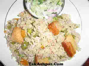 خوراک برنج هندی
